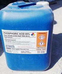 Phosphoric Acid 85% (Imported) Taiwan Origin, Packaging Type: Drum, 35 Kg Carboy