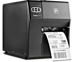 Zebra ZT 220 Barcode Printer With Max. Print Width 4.09 inches And Resolution 203 DPI