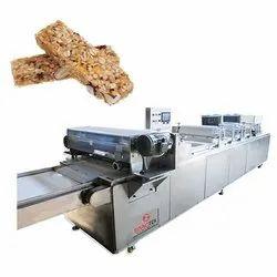 Granola Bar Sheeting and Cutting Machine