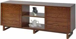 Hatil Wooden TV Cabinet Cum Cupboard, For Home