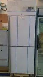 Blue Star Stainless Steel Refrigerator, Double Door, Capacity: 700