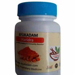 AyuKadam haridra capsules, 30 capsules
