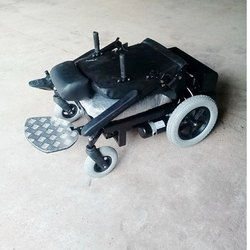 Foldable Back Rest Motorized Wheel Chair