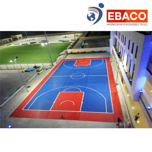 Ebaco Outdoor Interlocking Tiles Basketball Court Rs 268 Square Feet Id 15134924630