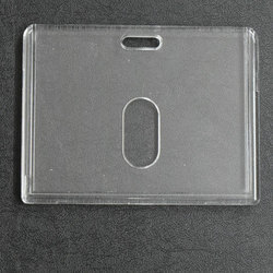 LC Horizontal Plastic ID Card Holder CH 57