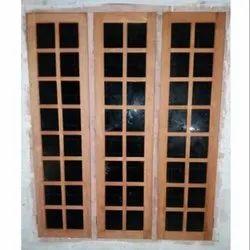 Hinged Wooden Window