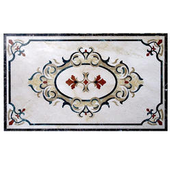 Pietra Dura Semi Precious Stone Inlay Table Top