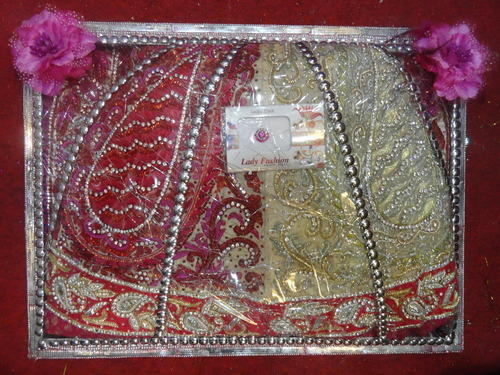 PVC Designer Saree Packing Bags
