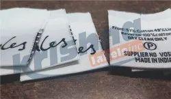 Woven Garment Labels