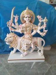 Sherawali Maa Marble Statue