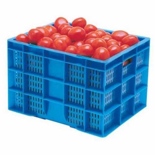 Square Mesh Small Tomato Crate, Rs 100 /piece Vaishnavi Plastic Industry |  ID: 19158807430