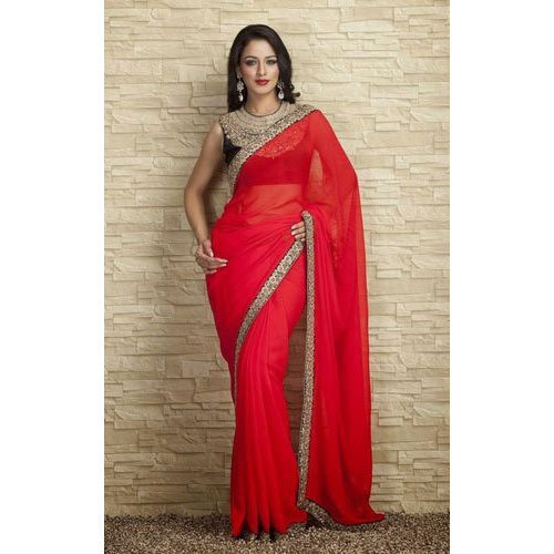 77d7876346 Ladies Plain Border Saree (Pack Of 12), Rs 2388 /pack, Style4Sure ...