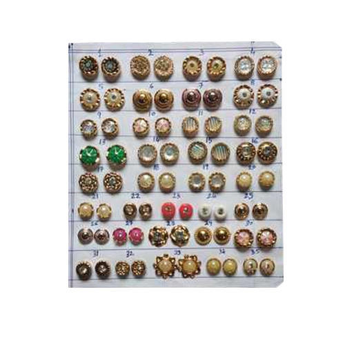 Trendy Plastic Button, Packaging Type: Packet | ID: 20413323388