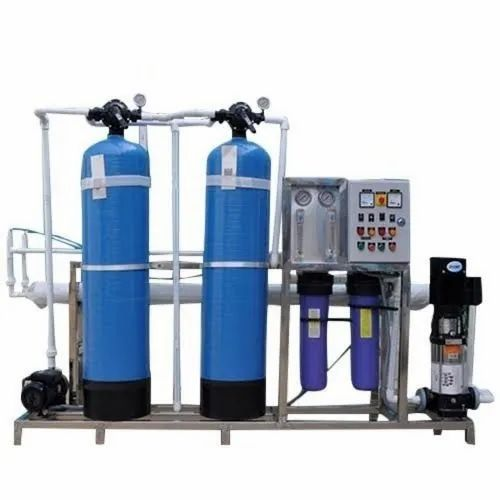 1000 LPH Semi Automatic FRP RO Plant for Industrial