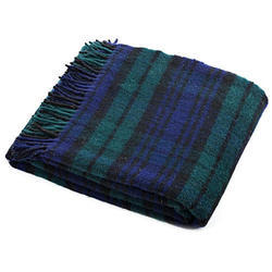 Single Multicolor Woolen Blanket