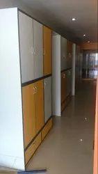 Shree Interior White, Brown, Etc Office Wooden Almirah