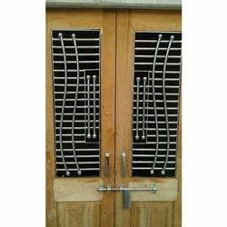 Grill Double Door