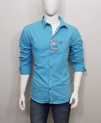 Formal Regular Fit Branded Plain Shirts