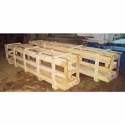 Rectangular Closed Crates Wooden Crate Box