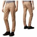 Mens Slim Fit Cotton Trousers