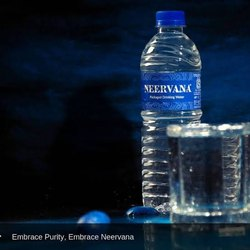 Blue Neervana Water 1 Ltr