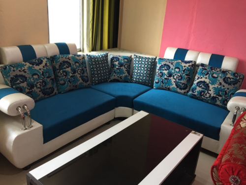 Sofa Set Blue White Manufacturer From Howrah