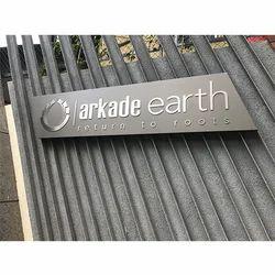Metal Signage Board