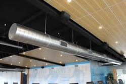 Silver Aluminium Air Conditioning Duct, For Industrial Use