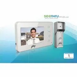 Gray Godrej Security Solutions Seethru ST4.3 Lite 4.3-Inch Video Door Phone, For Home, Lock