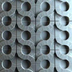 Ceramic 3D Grey Wall Tiles 8