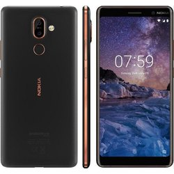 Nokia 7 Plus Copper Black 4GB and 64GB, Screen Size: 6 inch