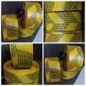 Yellow PP Strapping Roll
