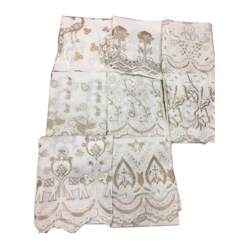 Cotton Ladies Chikan Palazzo, Waist Size: 28 To 38