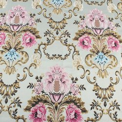 Brocade Fabric Damask Jacquard Embossed Flower Garments Sofa Curtain Upholstery Fabric