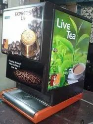 Live Coffee vending machine manufacturer
