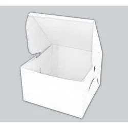 Plain Cake Packaging Box