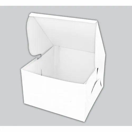 Plain Cake Packaging Box