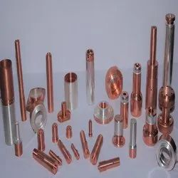 Copper Contacts With Silver Plating, For Industrial
