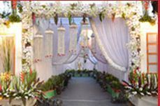 Party decoration services wedding hall decoration party floral decorations junglespirit Choice Image