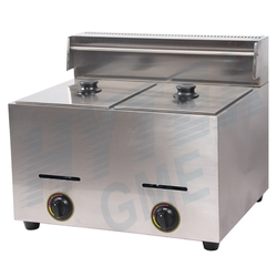 Direct Oil Heating Gas Fryer