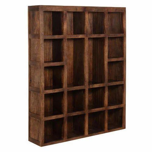 Wooden Book Rack At Rs 450 Square Feet Lakdi Ka Kitabon