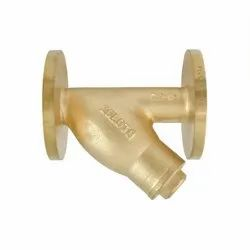 1054 Flanged Bronze Y Type Strainer