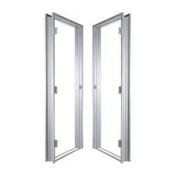 Iver Aluminium Door Frame, Surface Finishing: Powder Coated