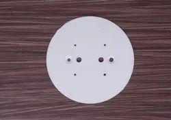 Plastic Round Plate (4