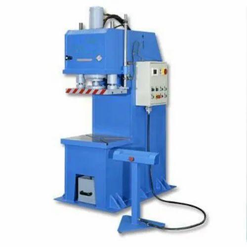 Criefco Mild Steel C Frame Hydraulic Press Machine, Capacity: 3 ...