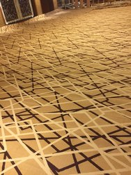 Polypropylene Wall To Wall Carpet, For Hotel