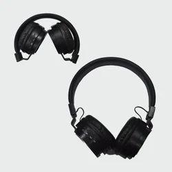 Famingo Black & Red Wireless Bluetooth Headphone (P-18)