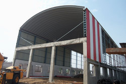 Halogen Roofing Structures