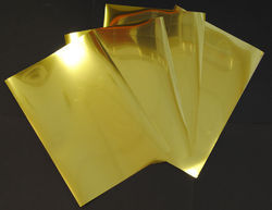 Stainless Steel Gold Mirror Sheet