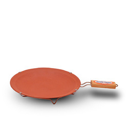 Clay Tawa With Handle 9 Inch